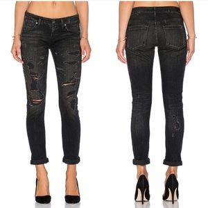 New AGOLDE Destroyed Jeans